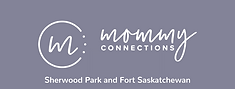 mommy connection  Logo Sherwood Park and