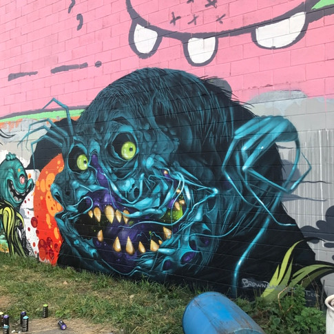 Recycle Center Ghoul in Detroit w/Malt and Tead One