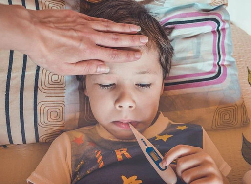 Covid times- when to treat a child with fever  at home and when to  visit a doctor?
