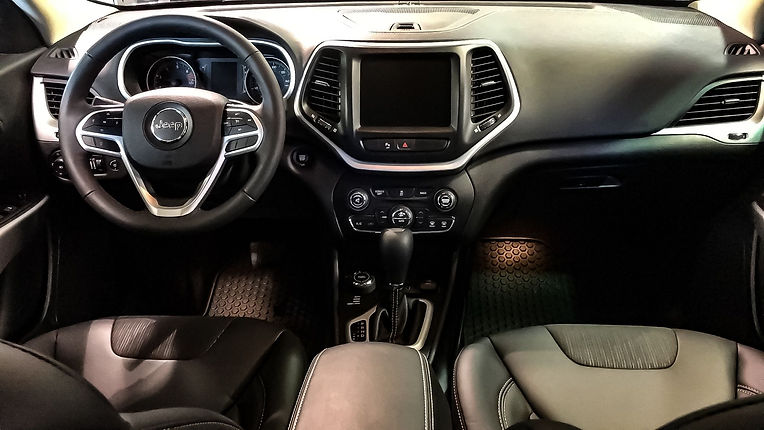 interior detail, car
