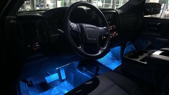 Interior Lighting, bluetooth, LED, car