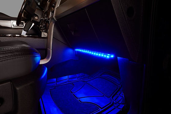 interior lighting, car, bluetooth and LED