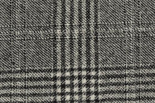 Grey Check Cashmere Suit