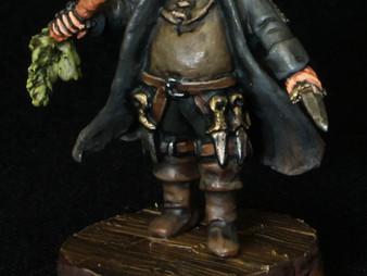 Albert Dreary (Flame Sculpt)