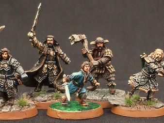 Champions of Erebor :  Thorin, Bilbo, Fili, Kili & Bofur