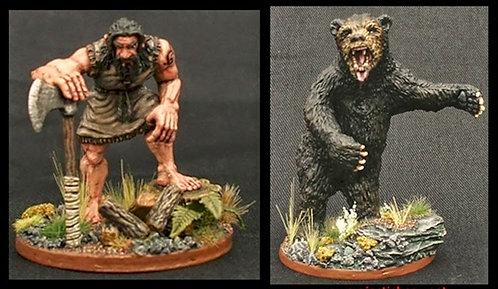 Bear & Woodsman Twin pack