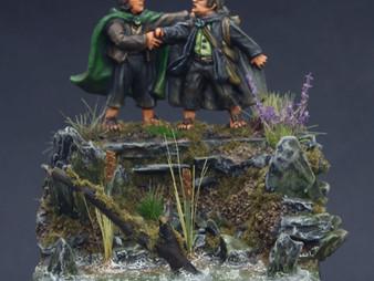 Frodo & Sam Diorama