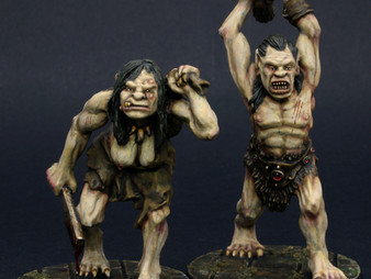 Otherworld Miniatures Ogres