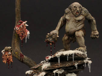 Gundabad Ogre display piece