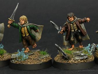 Hobbits (Frodo, Sam, Merry & Pippin