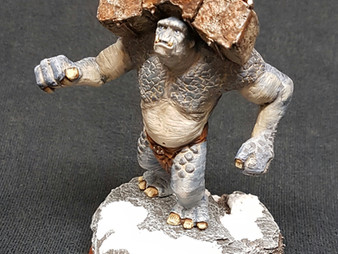 Battering Ram Troll (Flame Conversion) Azog Ft & Mtd & Gundabad Ogres