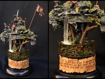 Converted Glorfindel Display Plinth