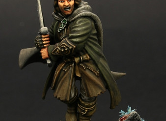 Aragorn : 3 Hunters.  Patreon Painting guide.