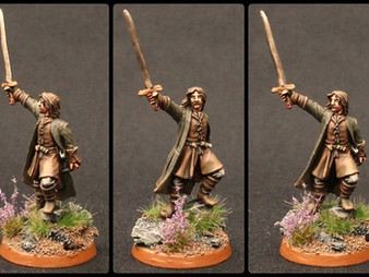 Aragorn & Mtd Ranger of the North (Conversion)