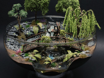 Glass Bowl Diorama No. 3