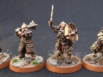 Champions of Erebor : Dori, Bifur, Oin & Gloin