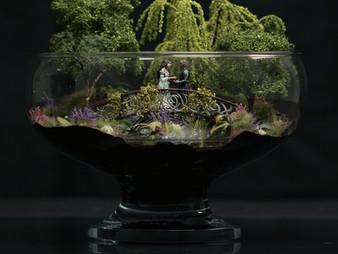 Aragorn & Arwen wedding diorama