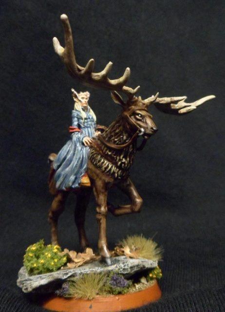 Thranduil on Elk