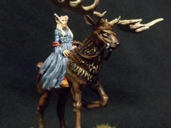 Thranduil on elk (Flame conversion)