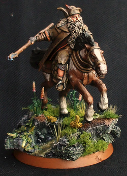 Radagast the Brown Mounted
