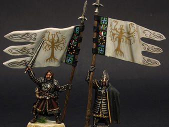 Boromir Captain of the White tower & Citadel Guard banner (conversion)