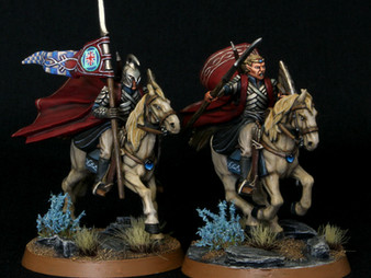 Rivendell Knights Captain & Banner