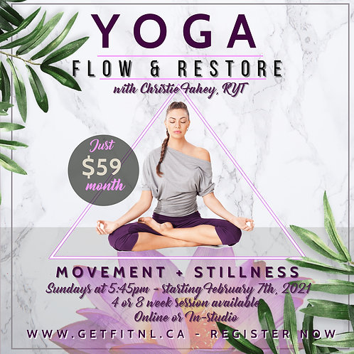 YOGA FLOW AND RESTORE