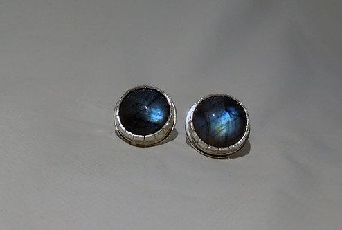 Sterling Silver Labradorite Earrings