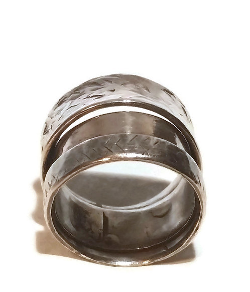 Sterling Silver Broken Band Ring