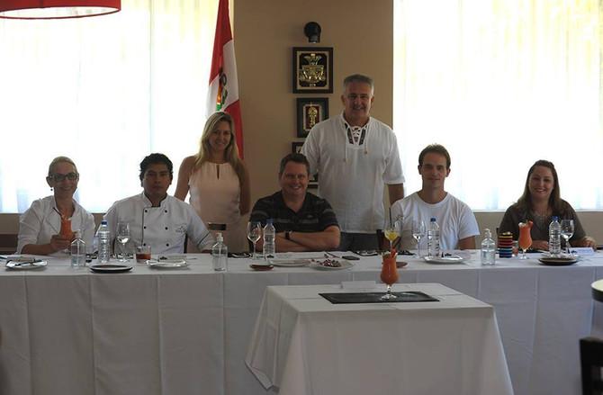 Primeiro concurso gastronômico interno Sabor Perú