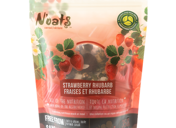 N'oats Strawberry Rhubarb 350g