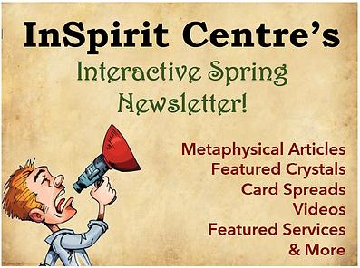 Interactive spring newsletter anouncemen