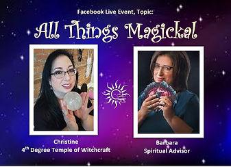 all things magickal talk - Barbara Ford