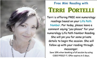 Terri Portelling Numerology Psychic Fair