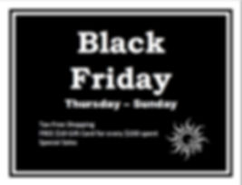 Black Friday Sales InSpirit Centre Georg