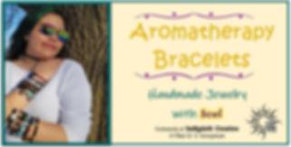 Aromatherapy handmade bracelets InSpirit