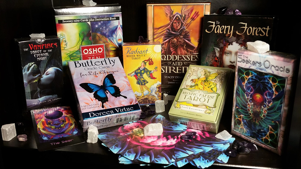Collection of Tarot & Oracle Cards