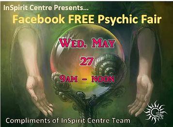 FAcebook FREE Online Psychic Fair InSpir