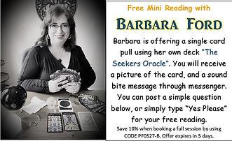 Barbara Ford Psychic Fair 05-27 InSpirit