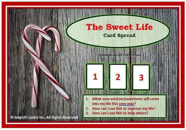Card Spread - The Sweet Life - InSpirit
