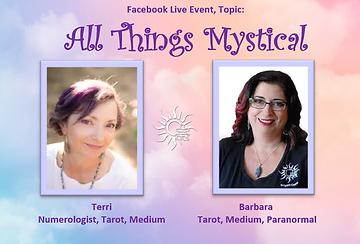 Barbara Terri All Things Mystical Talk I