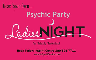 Ladies Night In Psychic Home Party Tarot