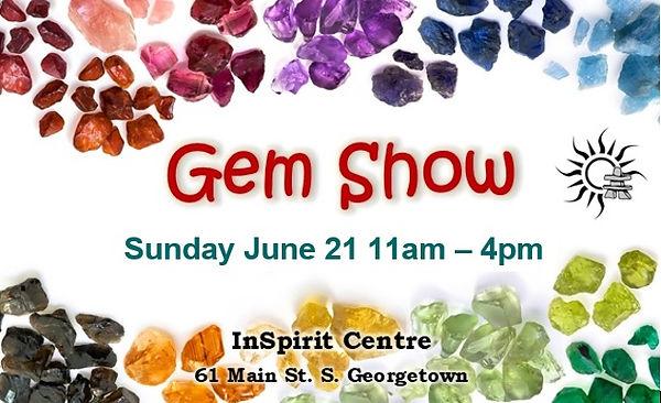 Gem Show June 21 2020 InSpirit Centre Ge