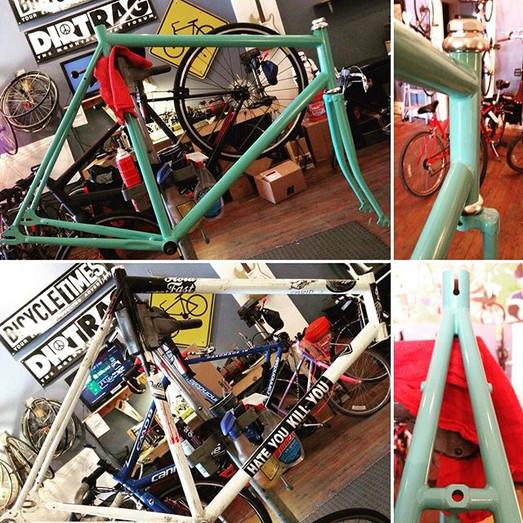 Mercier Kilo TT frame restore with Tiffa