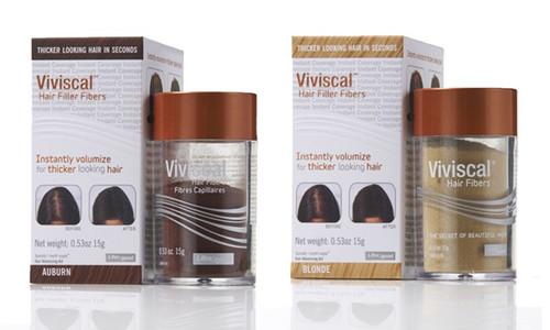 Viviscal Hair Fibers Clear Complexions