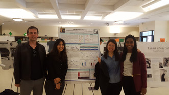 Three posters presented at Research Days.