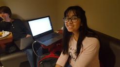 Shania won hackathon beginner prize!