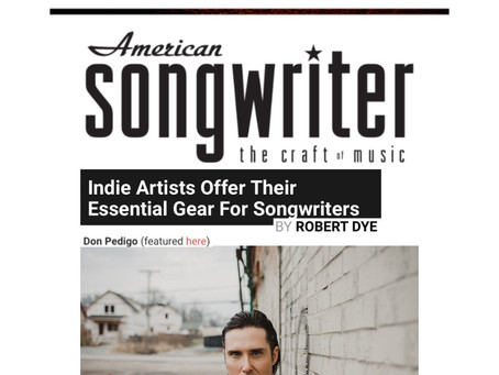 American Songwriter: Indie Artists Offer Their Essential Gear For Songwriters