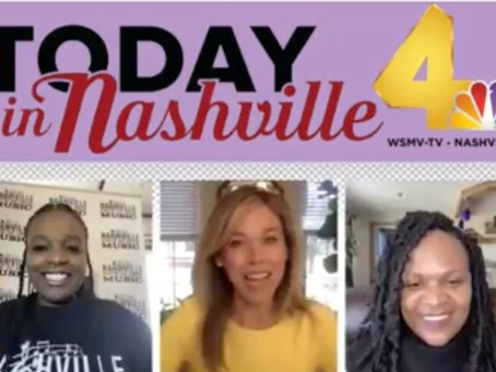 WSMV-TV NBC'S 'TODAY IN NASHVILLE' w/ Mimi & Muziqueen
