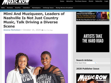MusicRow Magazine: Mimi And Muziqueen, Leaders of NINJCM, Talk Driving a Diverse Scene